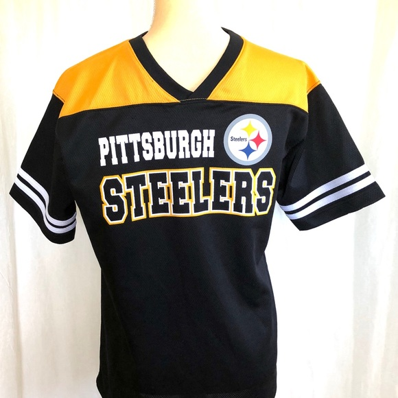 Top NFL Shirts & Tops | Pittsburgh Steelers Youth Jersey Shirt | Poshmark  for cheap